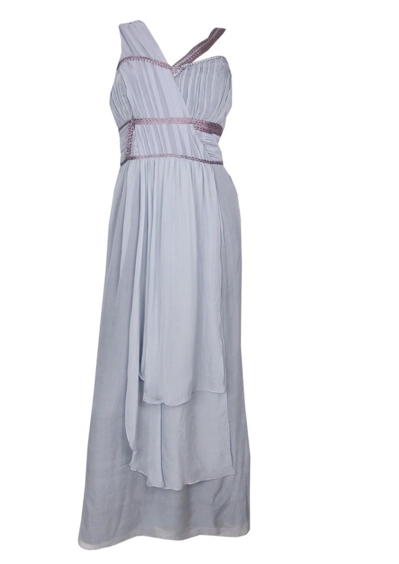 8fba507050eb0 Blank Venus Silk Maxi Dress - Ash