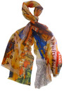 Lily and Lionel 1950s Magazine Scarf - Orange