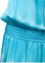 Hale Bob Tie Dye Silk Stretch Maxi Dress - Teal & Pink
