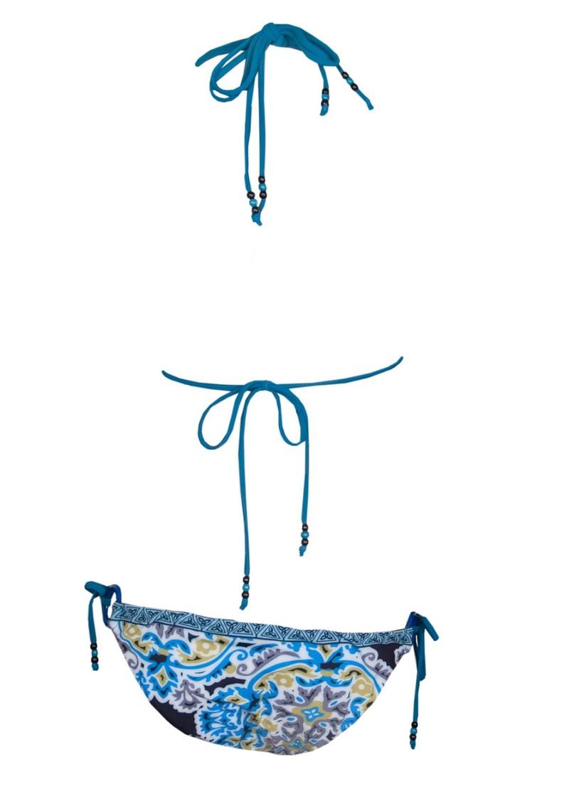 Hale Bob Cabana Printed  Bikini 906 - Blue  main image