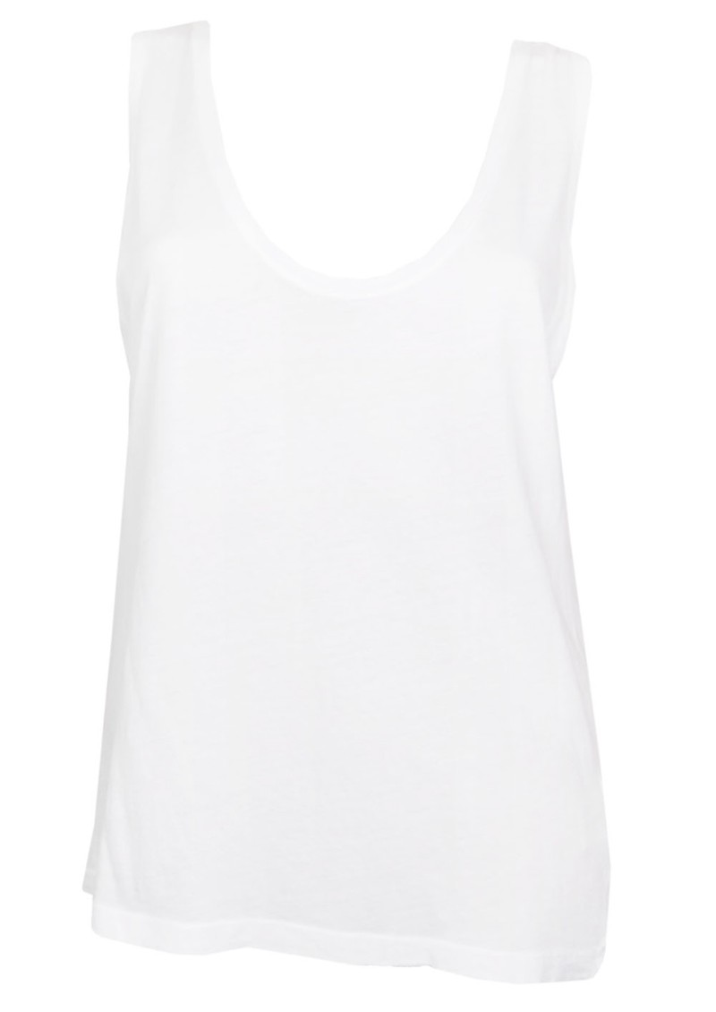 American Vintage Nouveau Mexique Sleeveless Tee - White main image