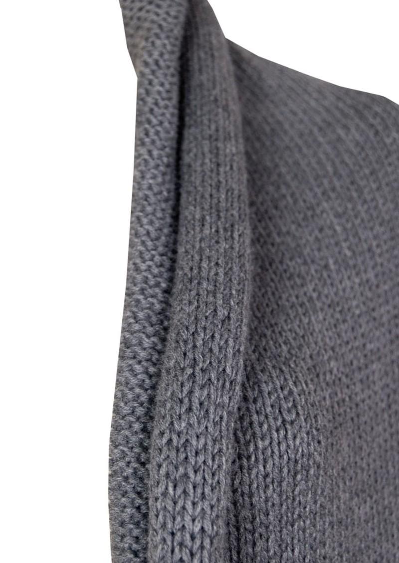 American Vintage Diamond State Sleeveless Cardigan - Pebble Melange main image