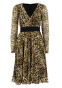 Project D Vienna Silk Dress - Leopard