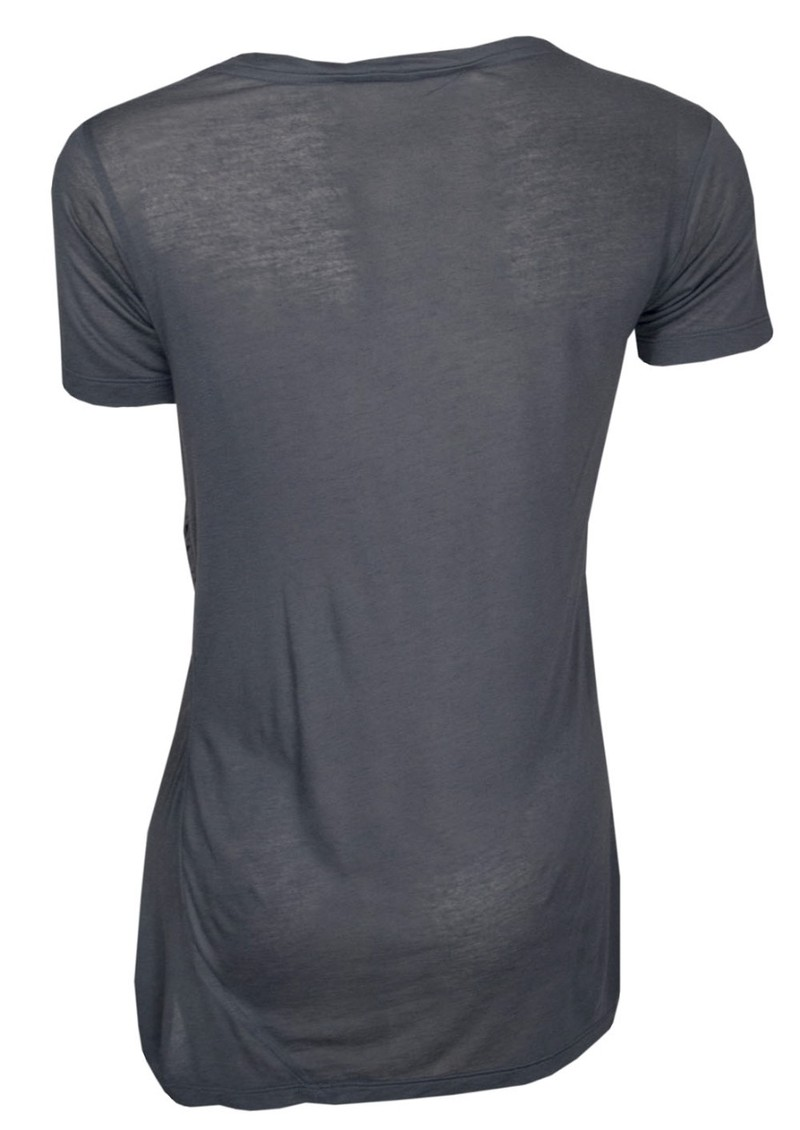 All My Love Seymour Cashmere Mix T Shirt - Anthracite main image