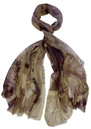 Lily and Lionel 1950s Magazine Scarf - Sepia