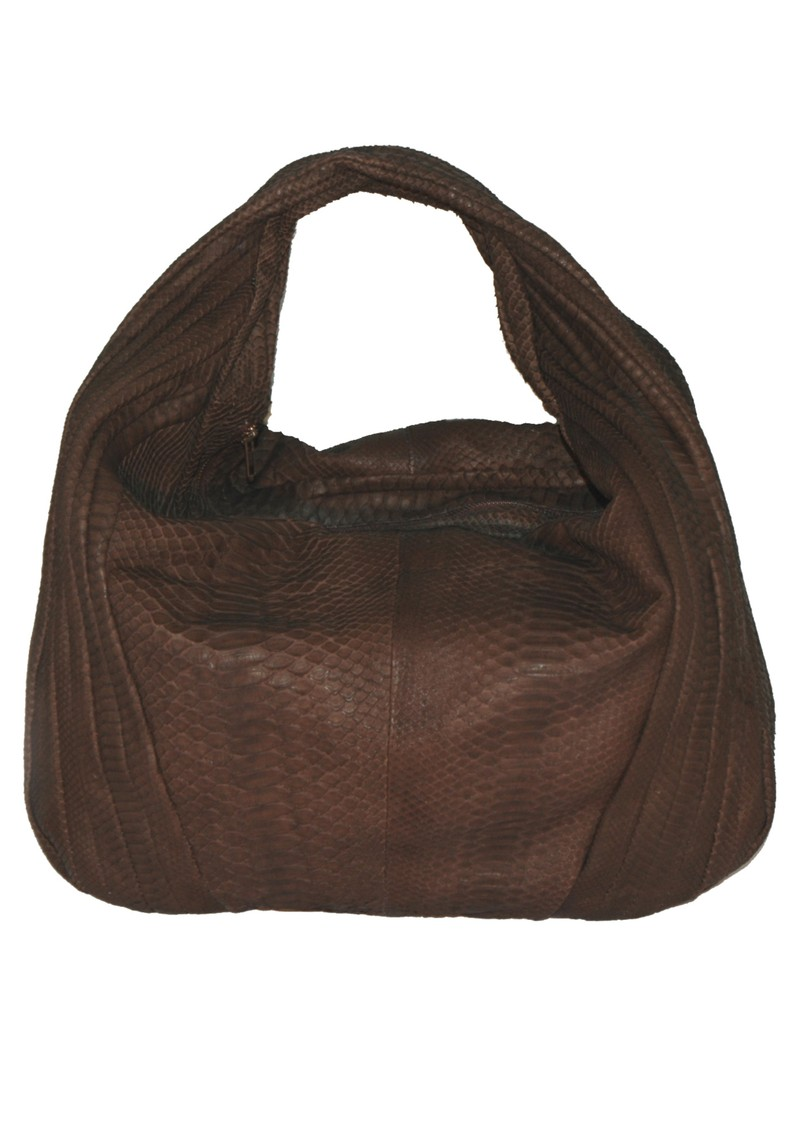 Jocasi Keda Python Bag - Brown main image