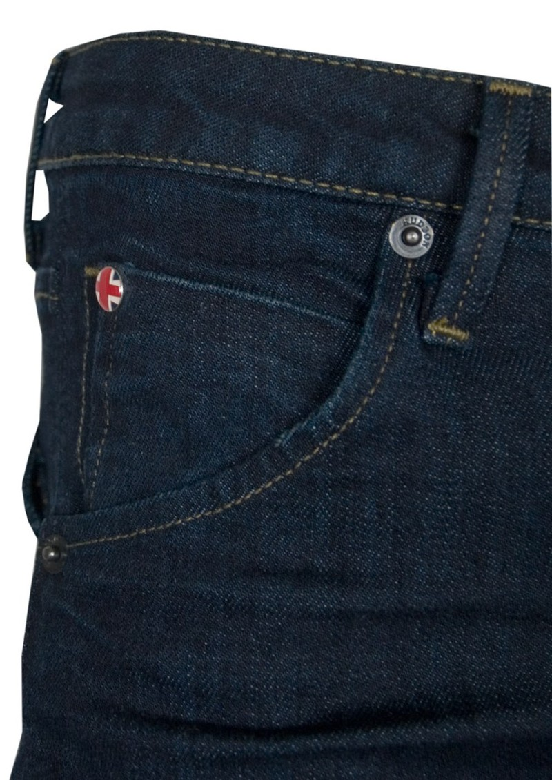 Hudson Jeans Carly Mid Rise Straight Leg - St Martins main image