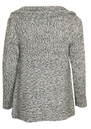 Video Wool Mix Chunky Cardigan - Grey additional image