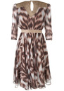 Project D Sasha Silk Print Dress