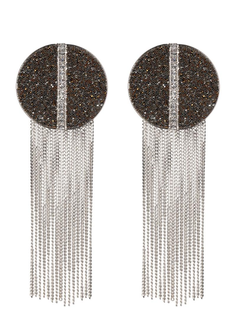 Martine Wester Disco Encrusted Earrings main image