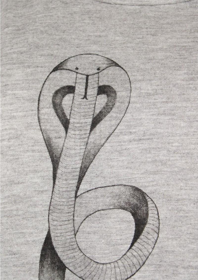 Style Stalker Love Long Sleeve Top - Grey main image