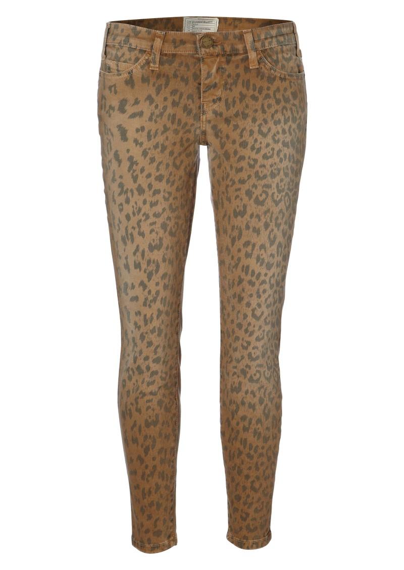3c8f6493cc1a Current/Elliott Stiletto Skinny Jean - Camel Leopard main image ...