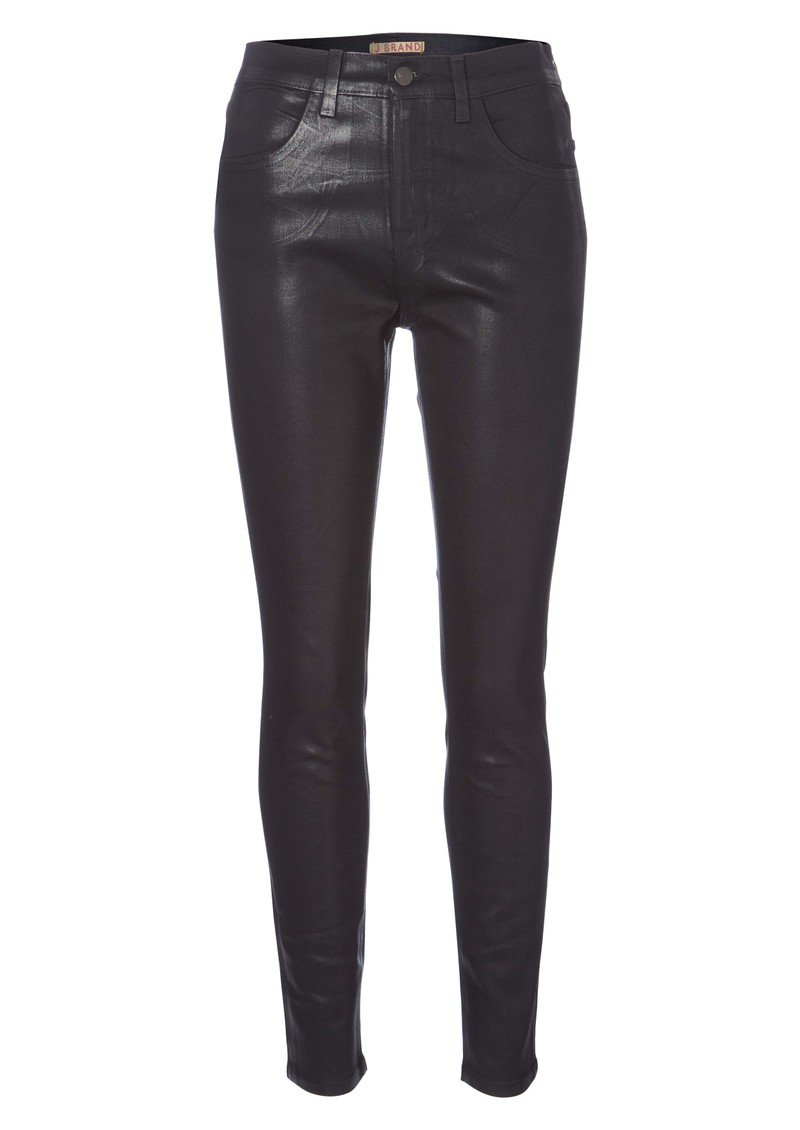 J Brand 23110 High Rise Maria Skinny Coated Jean - Ozzy main image