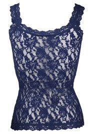 Hanky Panky Signature Lace Camisole - Navy