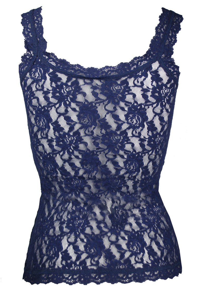 Hanky Panky Signature Lace Camisole - Navy main image