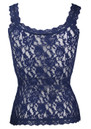 Signature Lace Camisole - Navy additional image