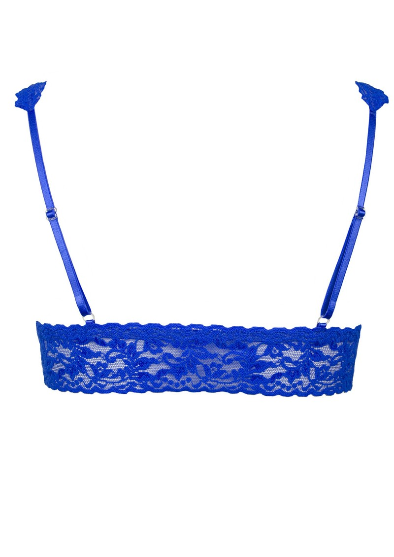 Hanky Panky Lace Bralette - Sapphire main image