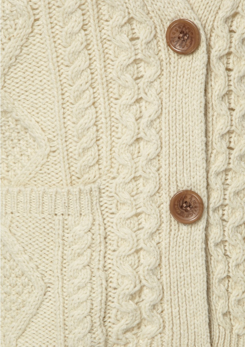 American Vintage Big Sky Country Cable Knit Cardigan - Sand main image