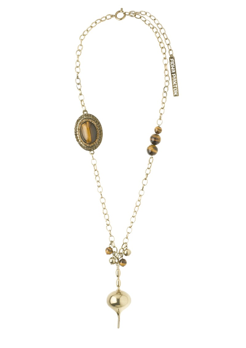 Fiona Paxton Violet Necklace - Gold main image