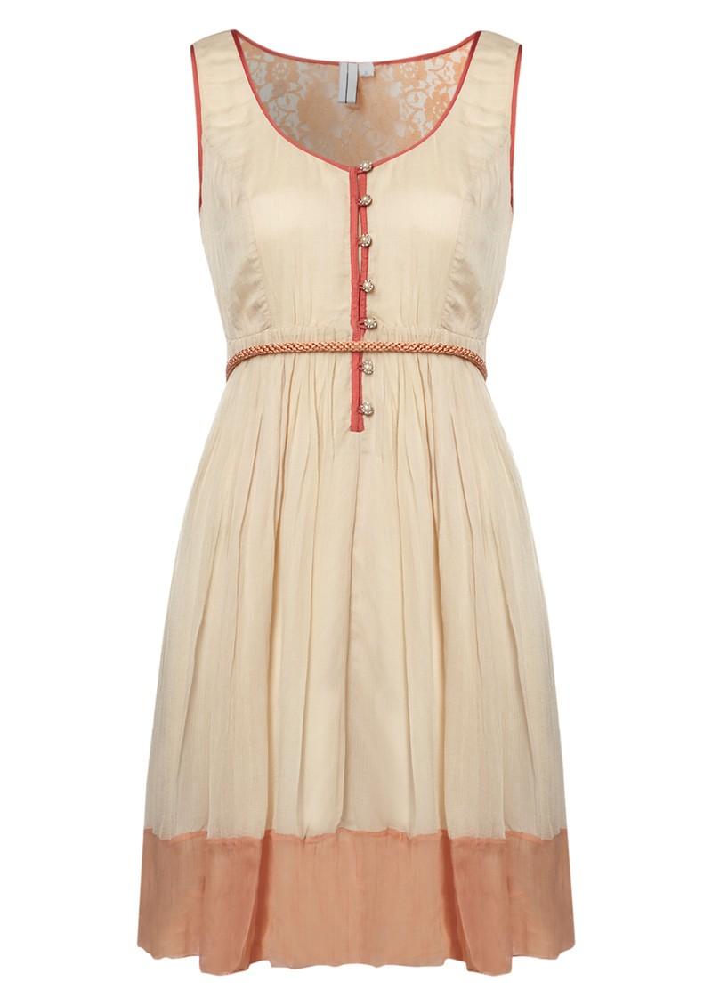 Blank Mette Dress - Nouget main image
