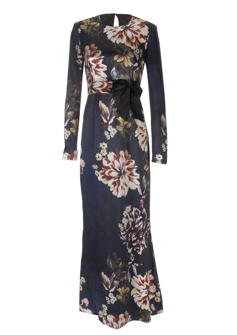 51a79ff5a2eb3 Project D Elle Silk Maxi Dress - Floral