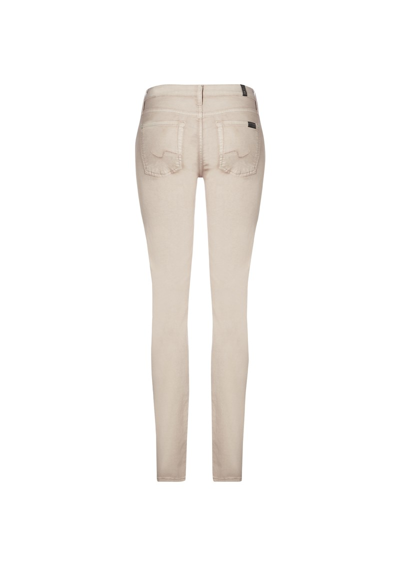 7 For All Mankind The Skinny Legging Jean - Powder main image
