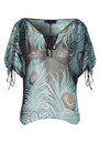 Feather Silk Blouse - Multi additional image