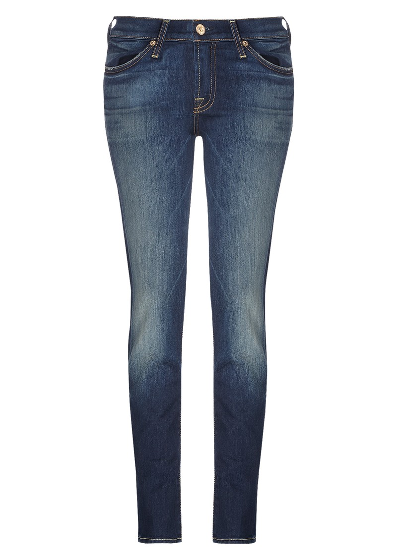 7 For All Mankind Gwenevere Skinny Jeans - Aggressive Siren main image
