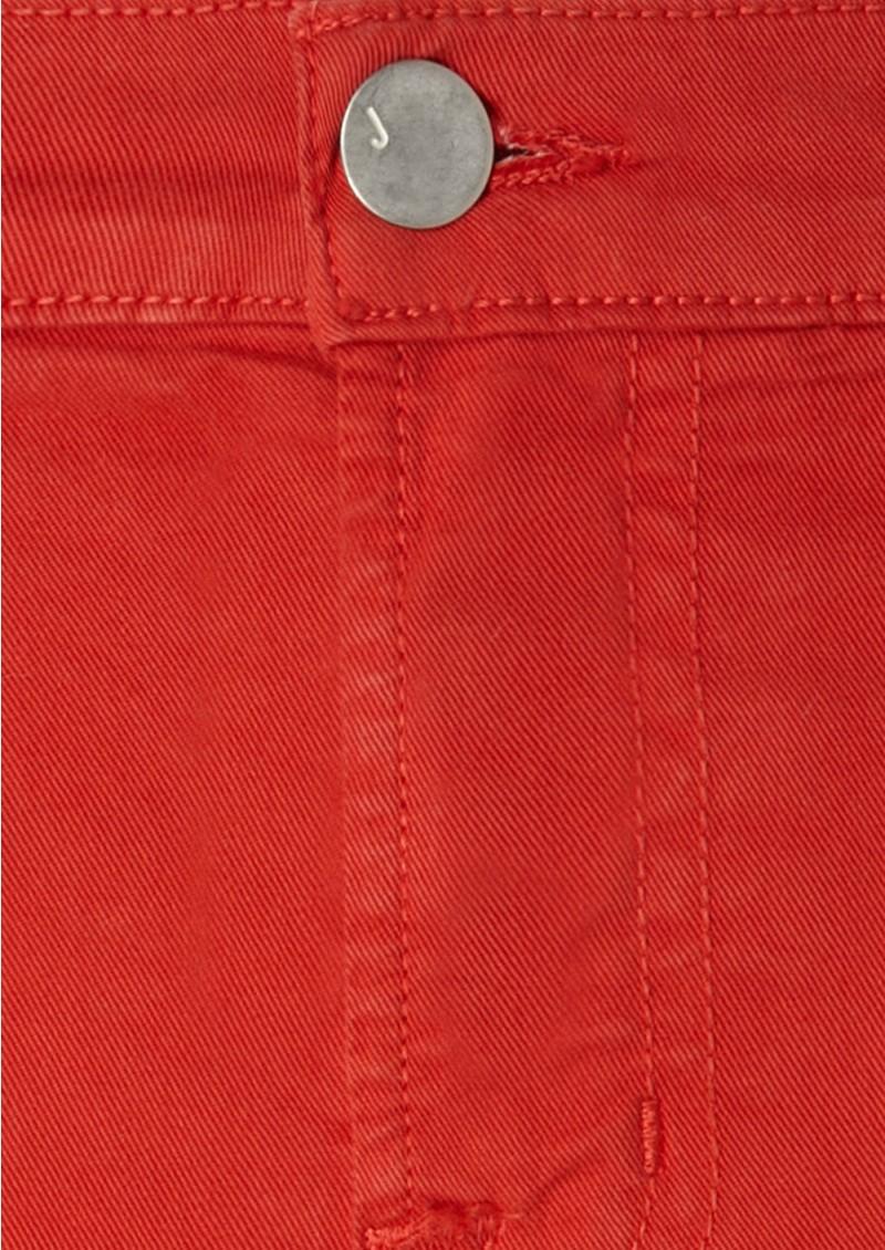 J Brand 811 Midrise Skinny Leg Jean - Blood Orange main image