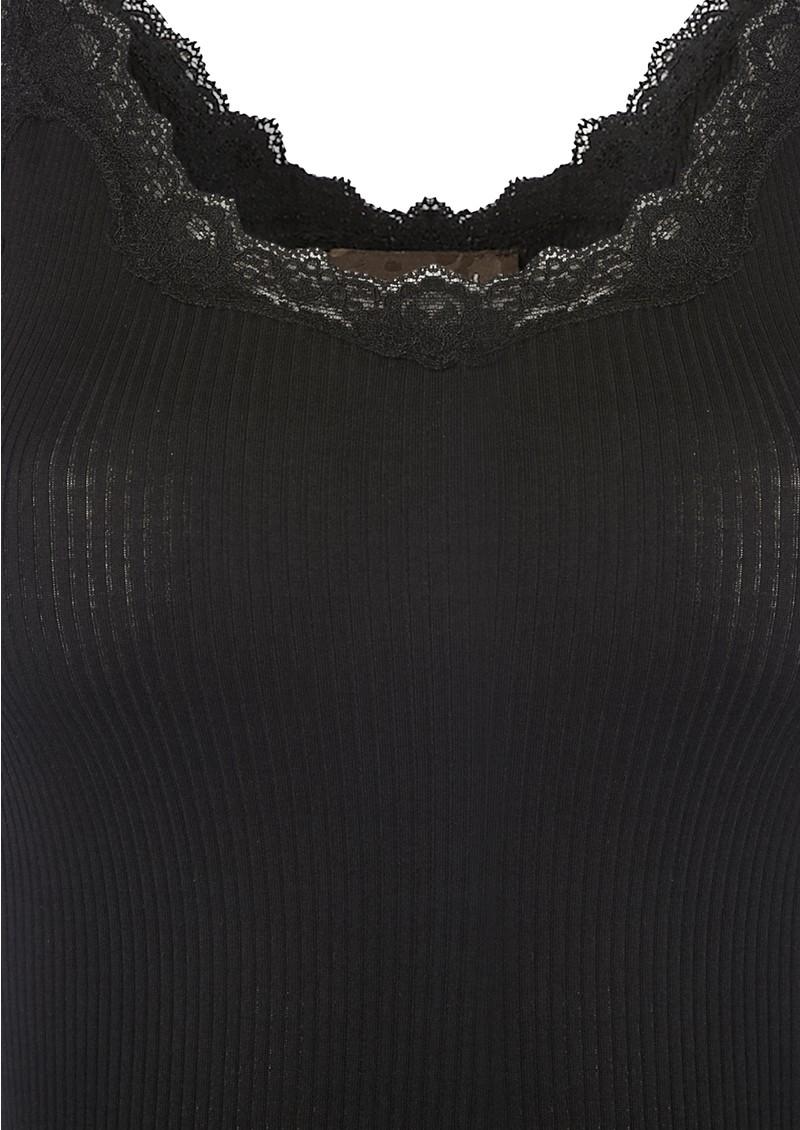 Rosemunde Silk Blend Lace Vest - Black main image