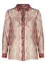 Ba&sh Bari Silk Mix Shirt - Grenadin