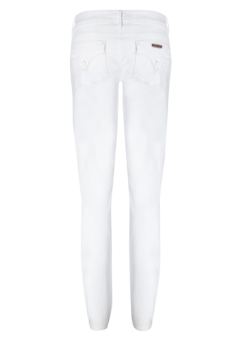 Hudson Jeans Collin Skinny Jean - White main image