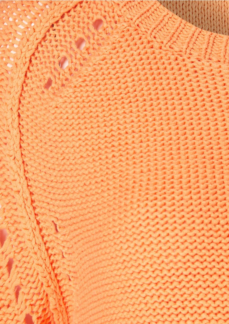 Laurel Knitted Jumper - Apricot main image