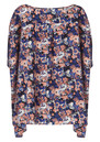 American Retro Trish Shirt - Floral