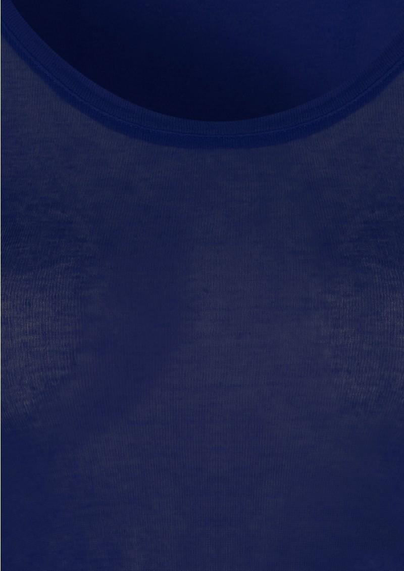 American Vintage Massachussets Long Sleeve Tee - Electric Blue main image