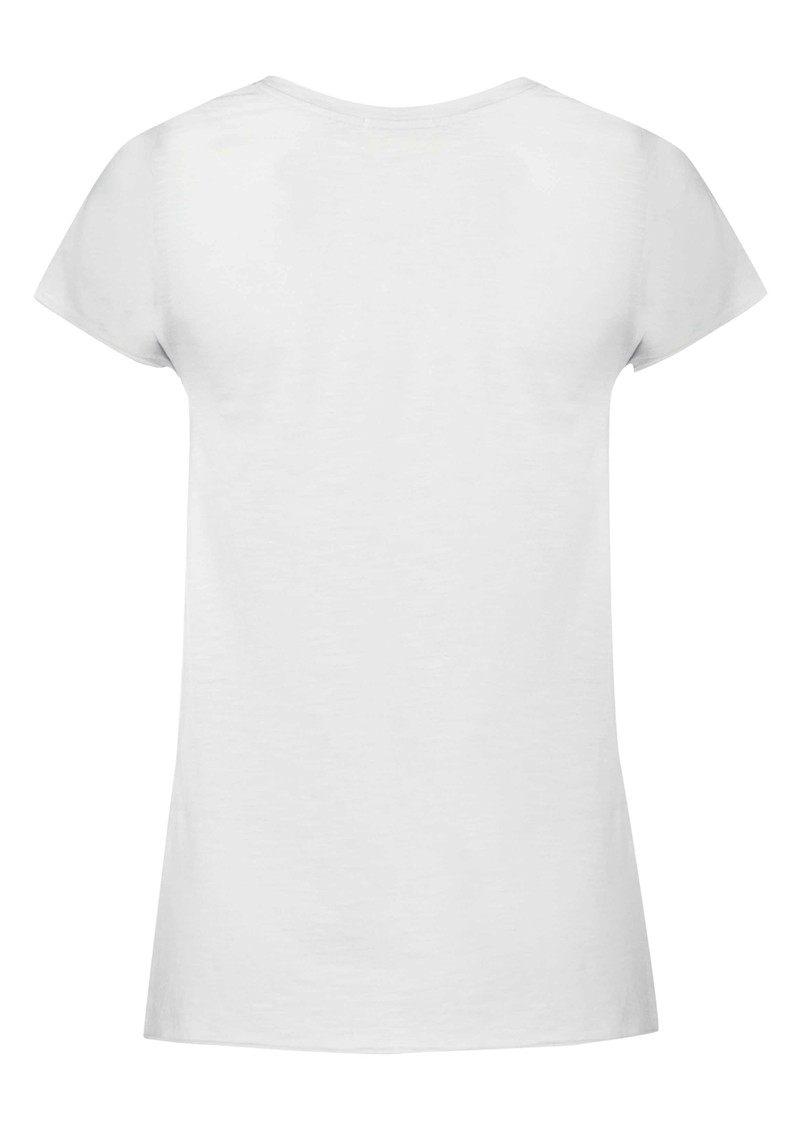 Jacksonville Short Sleeve Top - White main image