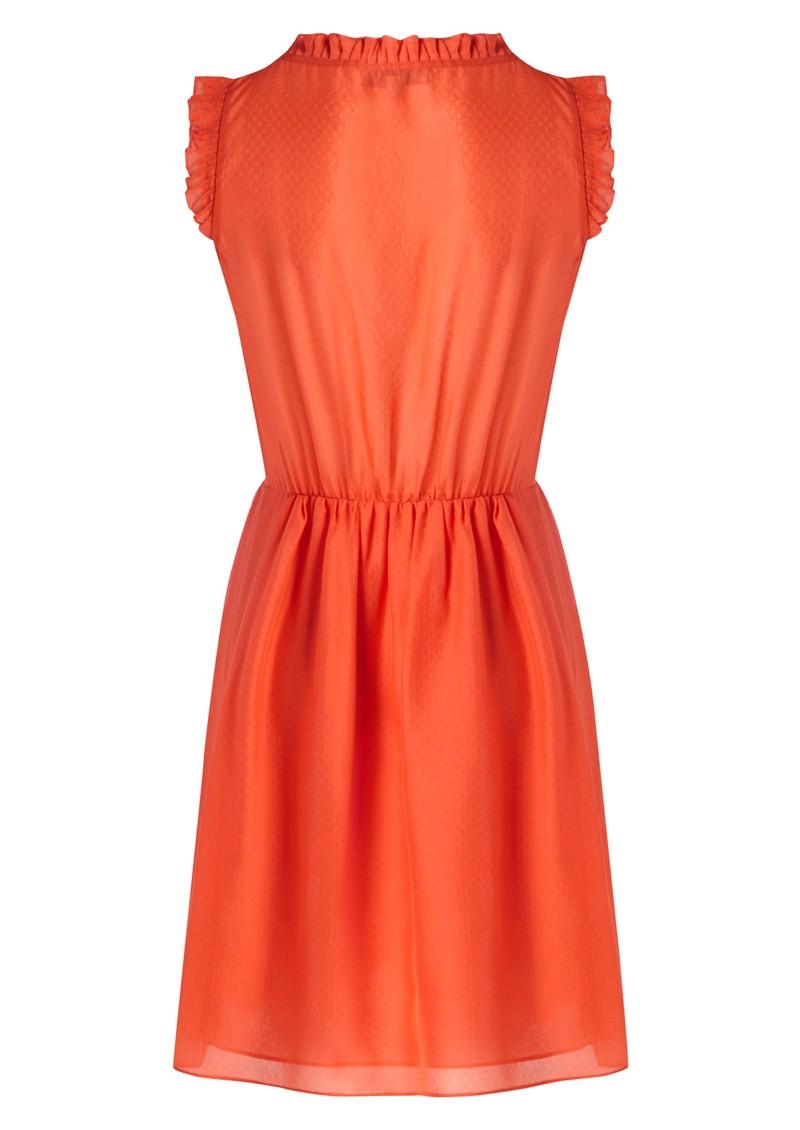 Paul and Joe Sister Horane Silk Dress - Coral main image