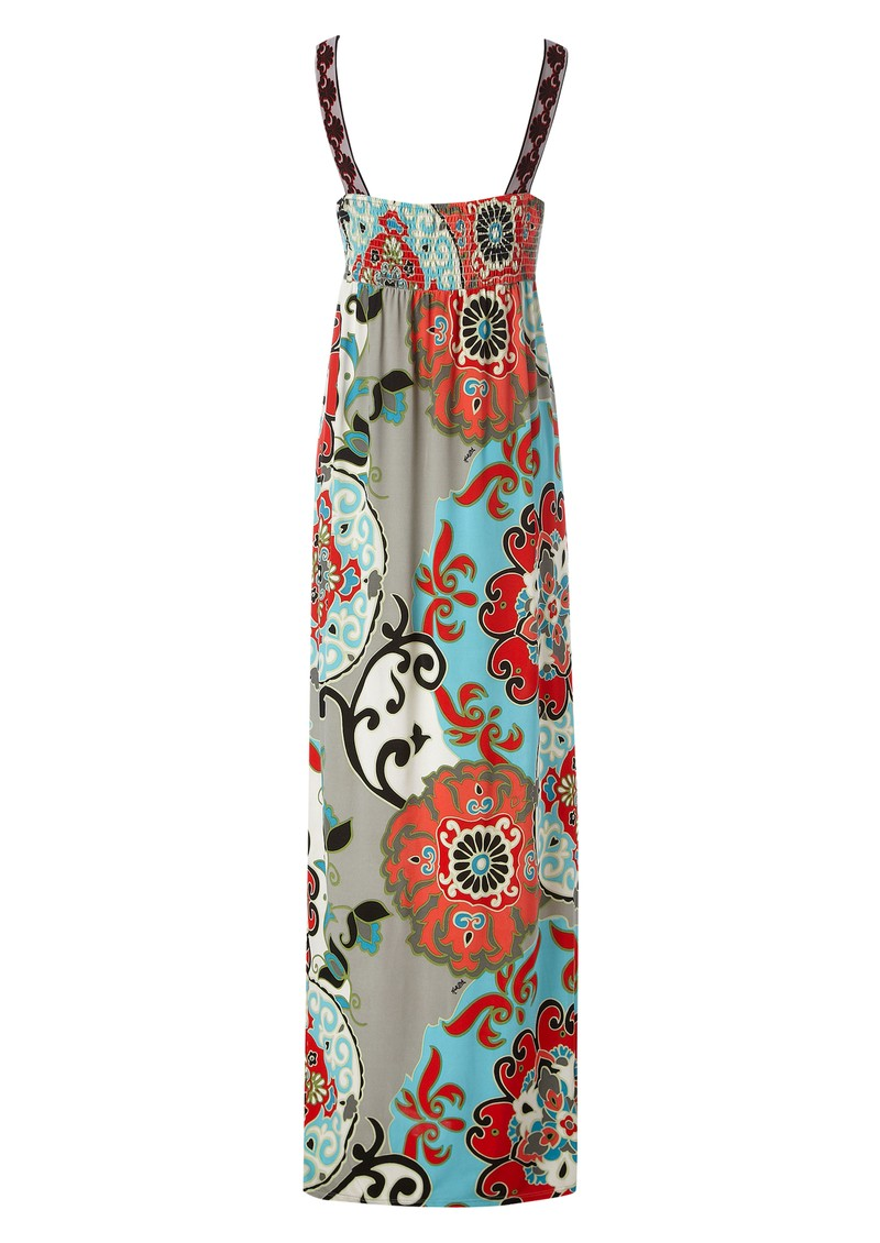 Hale Bob Garden Party Maxi Dress - Red main image