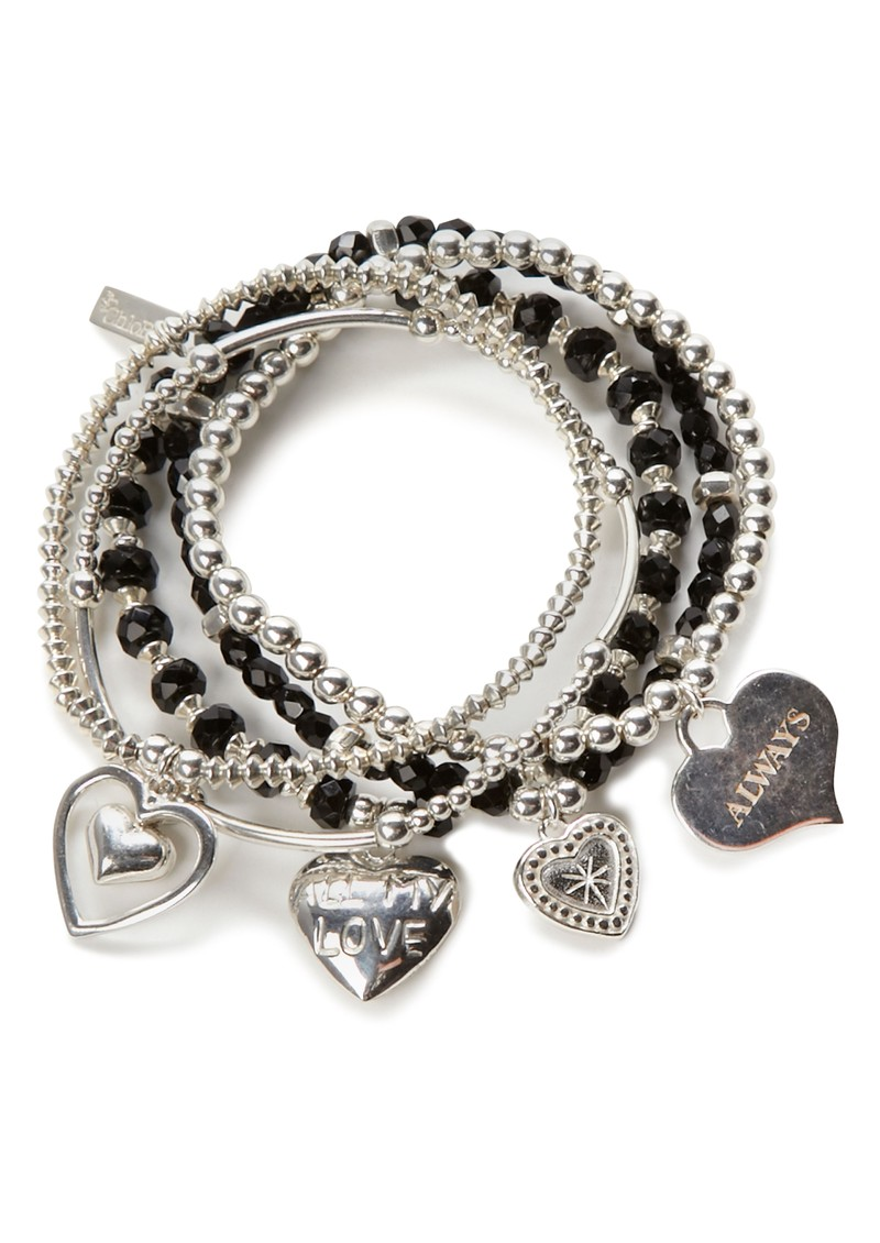 ChloBo Exclusive Set of 5 Love Bracelets  main image