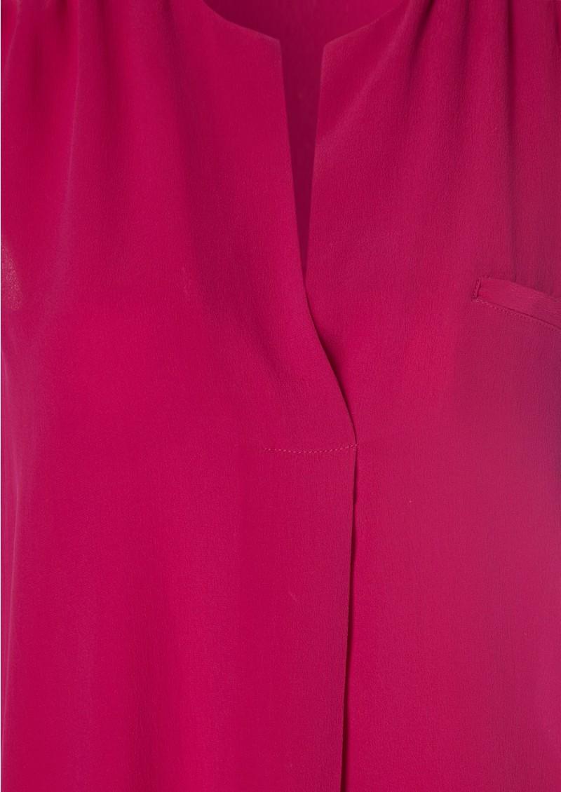 American Vintage Kismet Silk Dress - Fuchsia main image