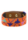 Fiona Paxton Amaris Bead Cuff - Orange