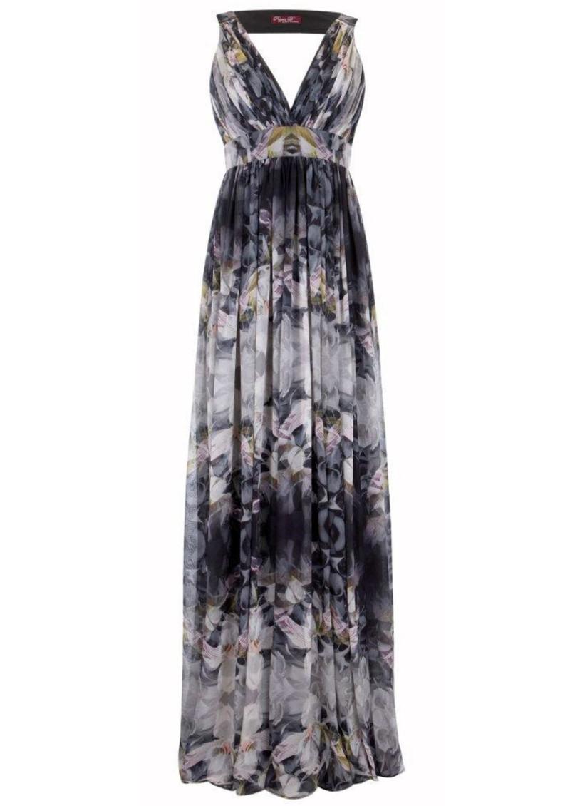 Project D Artemis Silk Maxi Dress - Orchid main image