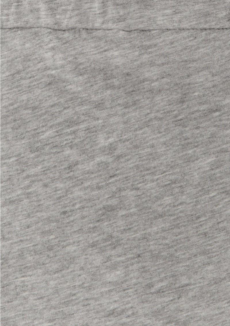 Bobi Jersey Maxi Skirt - Heather Grey main image