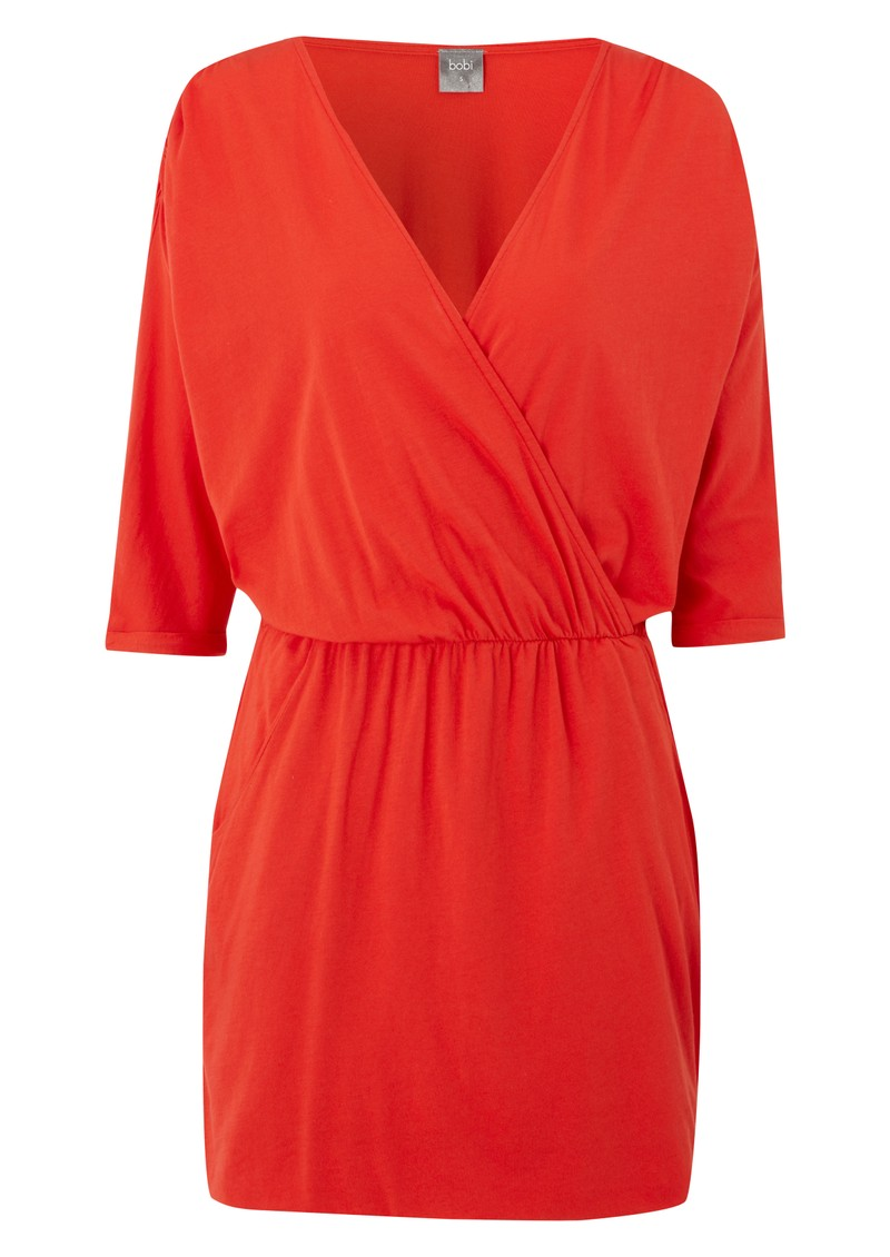 Bobi Jersey 3/4 Mini Dress - Groove main image