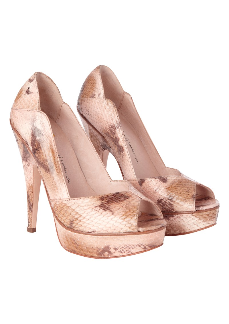 House Of Harlow Leigh Heels - Natural  main image
