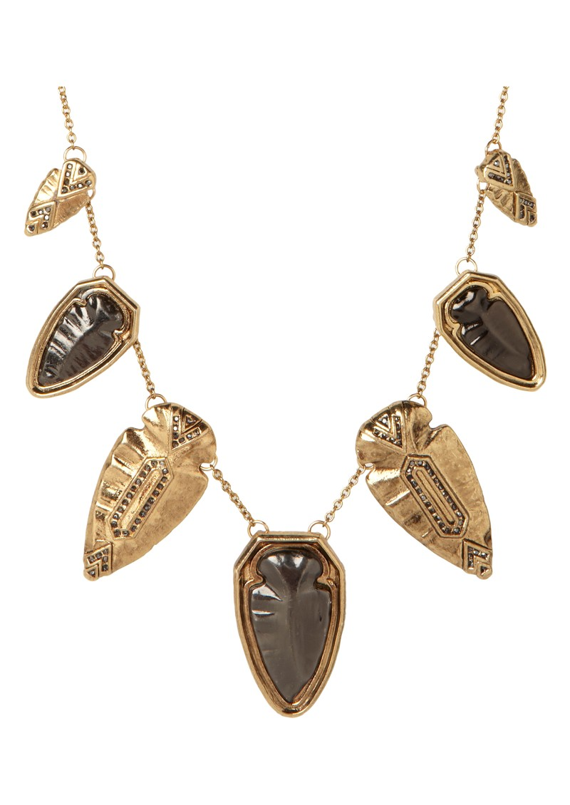 House Of Harlow Multi Arrow Head Necklace - Gold main image