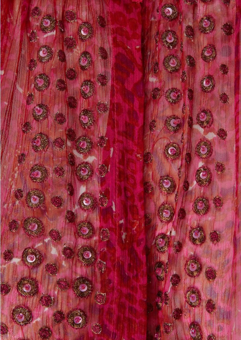 Antik Batik Tica Djellahab Silk Dress - Red main image