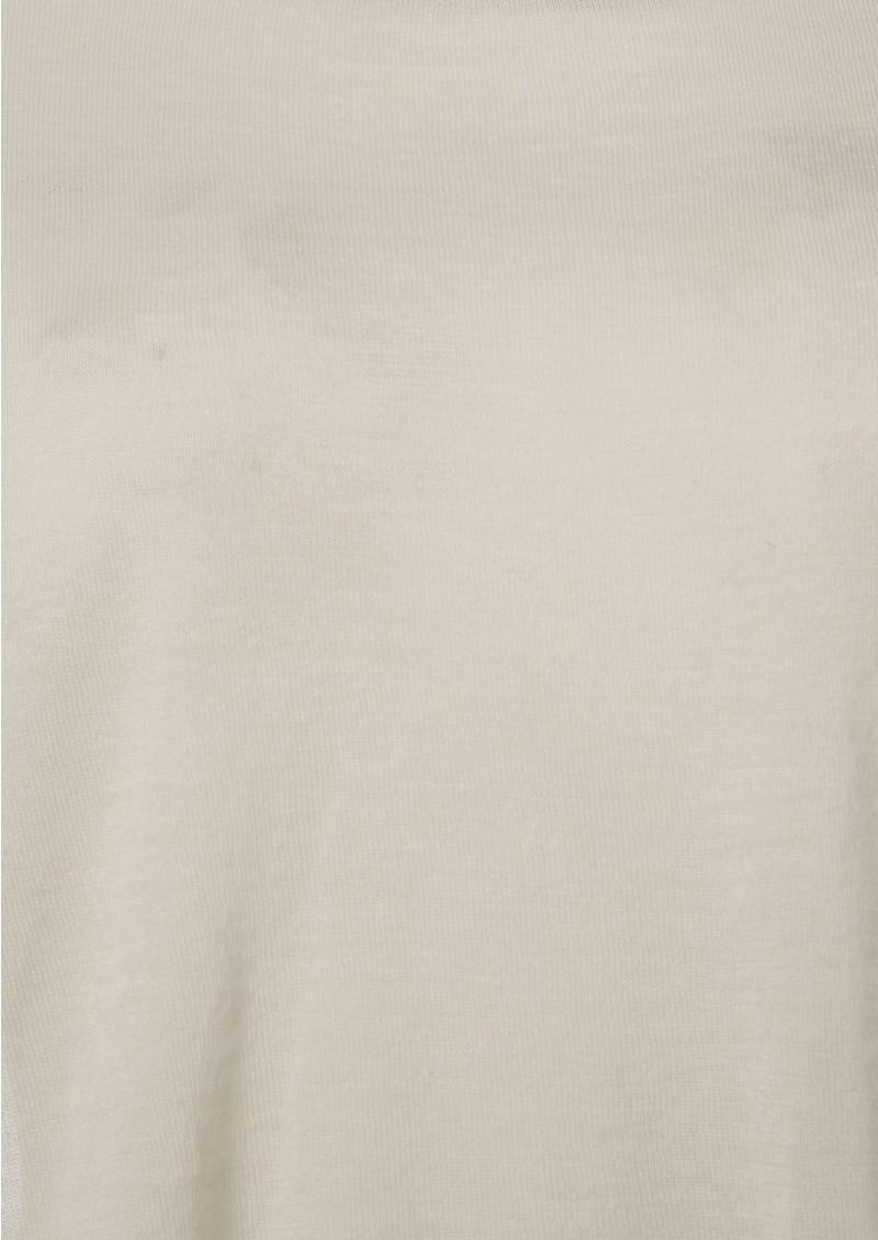 American Vintage Dunn Silk & Cashmere Blend Knit - Chalk main image