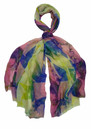 Hayworth Silk & Wool Blend Scarf - Pink additional image