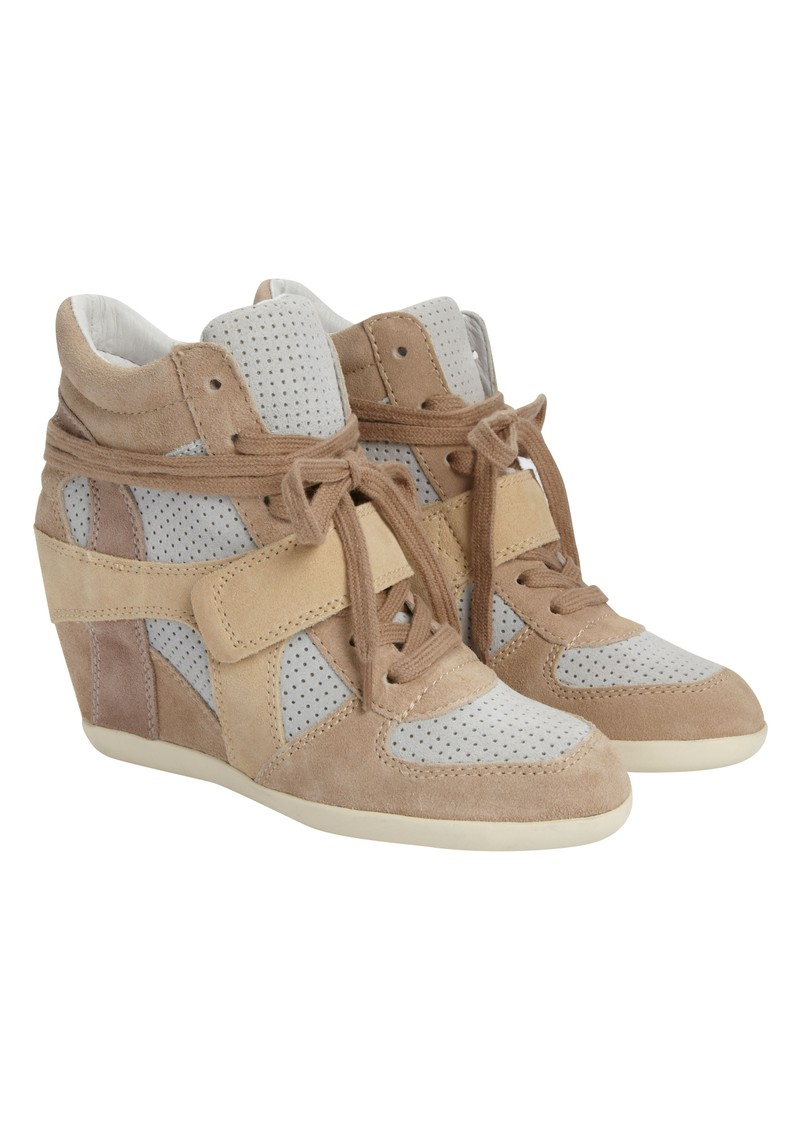 Ash Bowie Wedge Trainer - Sand main image